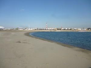 <かわさきの浜>